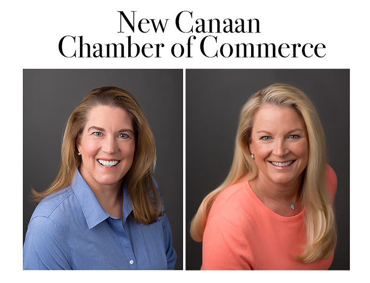 The lovely ladies behind the much loved New Canaan Chamber of Commerce.