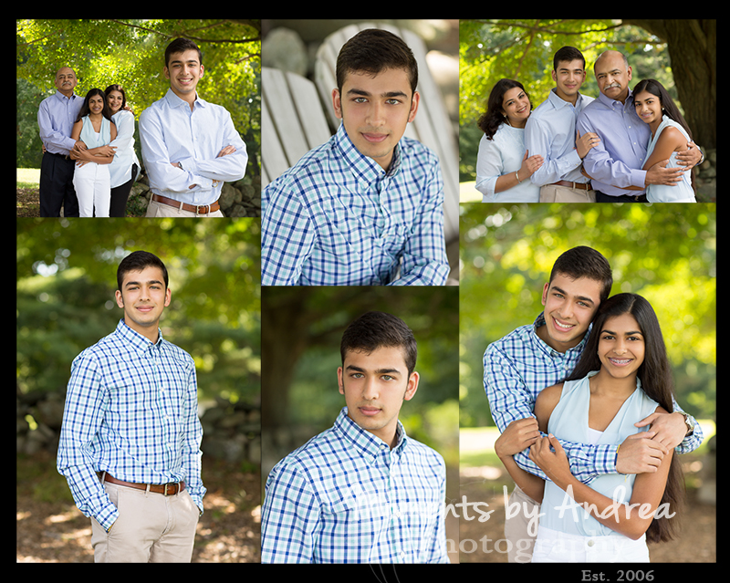 Senior family collage boy FB